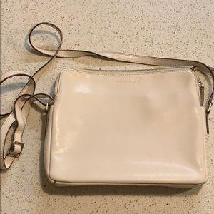 Banana Republic white/cream Leather Shoulder bag